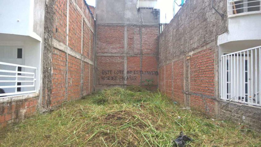 Se vende Lote en el Barrio El Caney en Cali, Colombia – Vendido